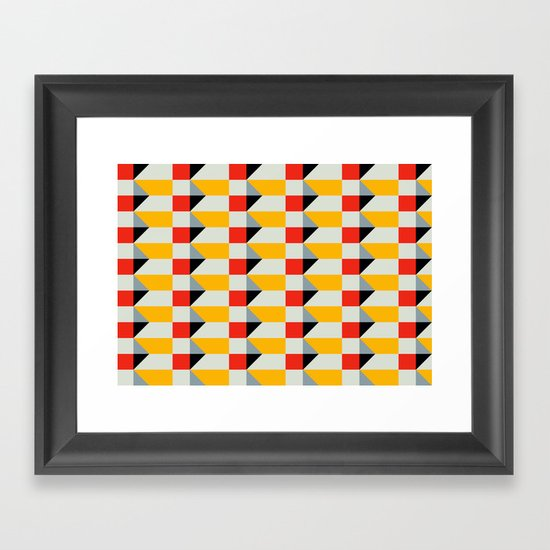 Crispijn II Pattern Framed Art Print
