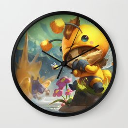 Beemo Teemo League Of Legends Wall Clock