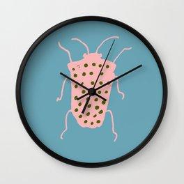 Arthropod blue Wall Clock