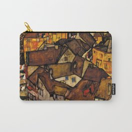 "Egon Schiele ""Krumau - Crescent of Houses (The small City V)"" Carry-All Pouch"