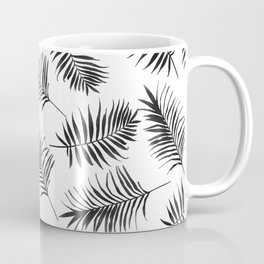 Palm leaves, Palm, Abstract, Scandinavian, Minimal, Pattern, Modern art Coffee Mug