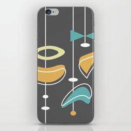 Swank Mid Century Modern Abstract iPhone Skin