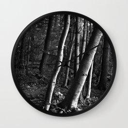 Tree Form Wall Clock