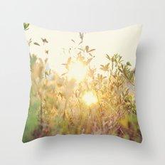Sun Rising Throw Pillow