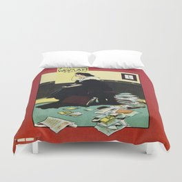 The New Woman, vintage Comedy Theatre london advert Duvet Cover