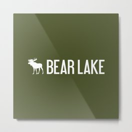 Bear Lake Moose Metal Print