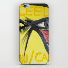 Proceed W/ Caution iPhone Skin