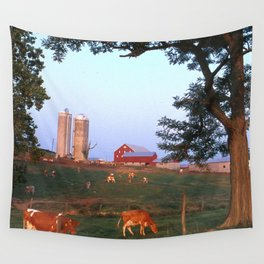 Dairy Farm Wall Tapestry
