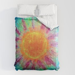 Positive Vibes  Comforters