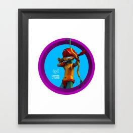 Empire of Code archer Framed Art Print