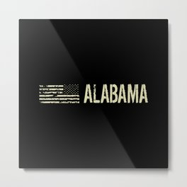 Black Flag: Alabama Metal Print