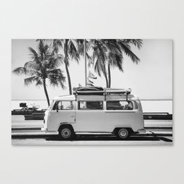 Retro Van Canvas Print
