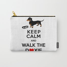 Walk the Doxie Carry-All Pouch