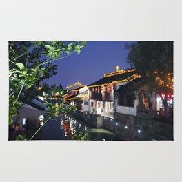 China Suzhou Night Scene Rug