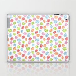 Wibbly Wobbly Flowers Laptop & iPad Skin