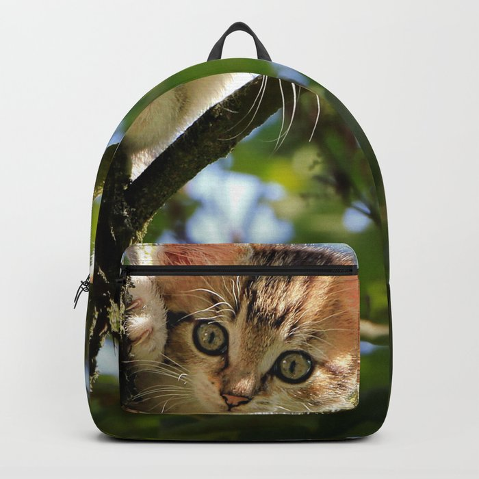 Kitten in a Tree Backpack