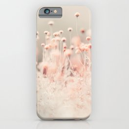 Pink Angel (two) iPhone Case