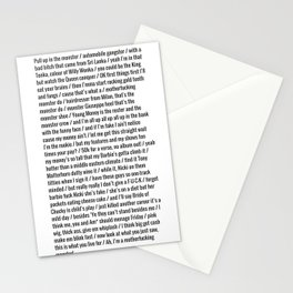 Nicki Monster Stationery Cards