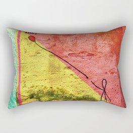 Lost - color Rectangular Pillow