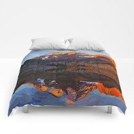 The Wonderful Maroon Bells in Autumn Comforters