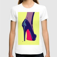 shoe T-shirts featuring Shoe by Giuseppe Cristiano