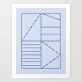Structure - 02 Art Print