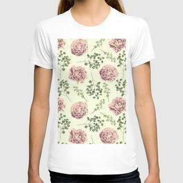 Secret Garden Pink and Green T-shirt