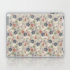 Retro Flora Laptop & iPad Skin