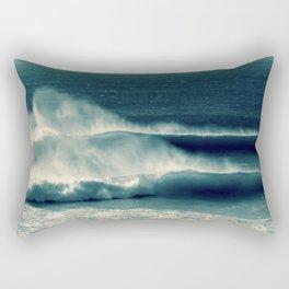Offshore Waves Rectangular Pillow