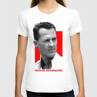 formula 1 T-shirts featuring Formula One - Michael Schumacher by Vehicle