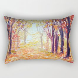 Where Has My Love Gone ~ Colors of Fall Rectangular Pillow