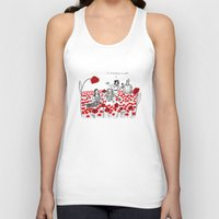 poppies Tank Tops featuring Poppies by Shelby Ticsay