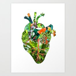 Botanical Heart Art Print