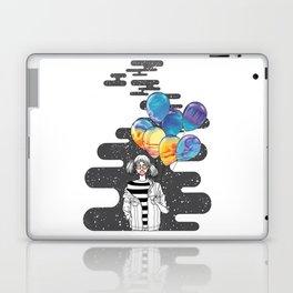 Carrying the Sky Laptop & iPad Skin