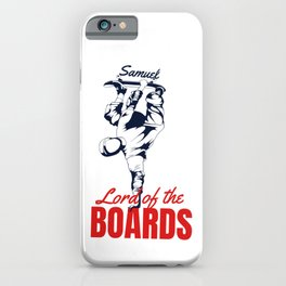 Samuel lord of the boards iPhone Case