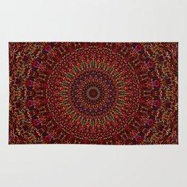 Kaleidoscope Garden Mandala Rug
