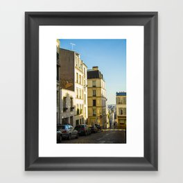 Montmartre series 1 Framed Art Print