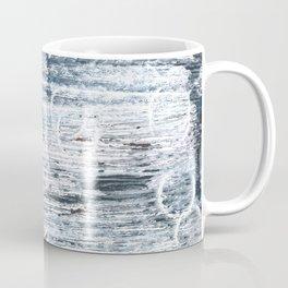 Columbia Blue abstract watercolor Coffee Mug