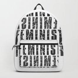 Feminist in Grunge Backpack