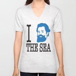 I __ The Sea Unisex V-Neck