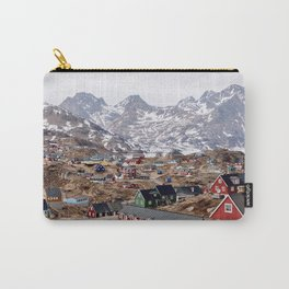 COLOURFUL LITTLE MOUNTAIN TOWN Carry-All Pouch