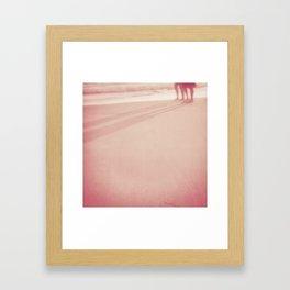 n o    t a l k Framed Art Print