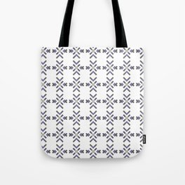LUPINE mauve and white abstract flower design Tote Bag