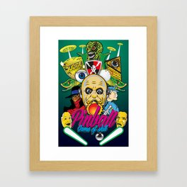 Pinball, Game of skill Framed Art Print