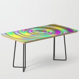 Pastel Swirl Coffee Table