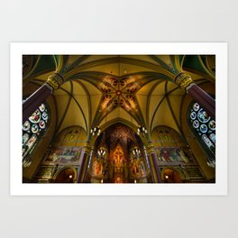 Cathedral Of The Madeleine 2 - Utah Art Print