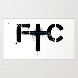 FindChaos - Logo Art Print