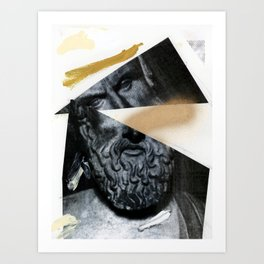 Untitled (Painted Composition 12) Art Print