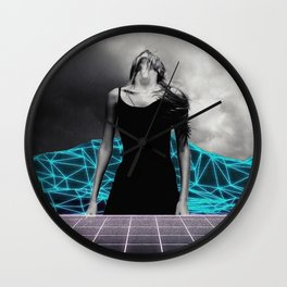 Trapped ... Wall Clock