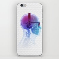 terry fan iPhone & iPod Skins featuring Electronic Music Fan by Sitchko Igor